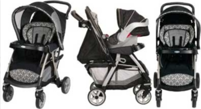 Graco stroller is available at Baby Shop